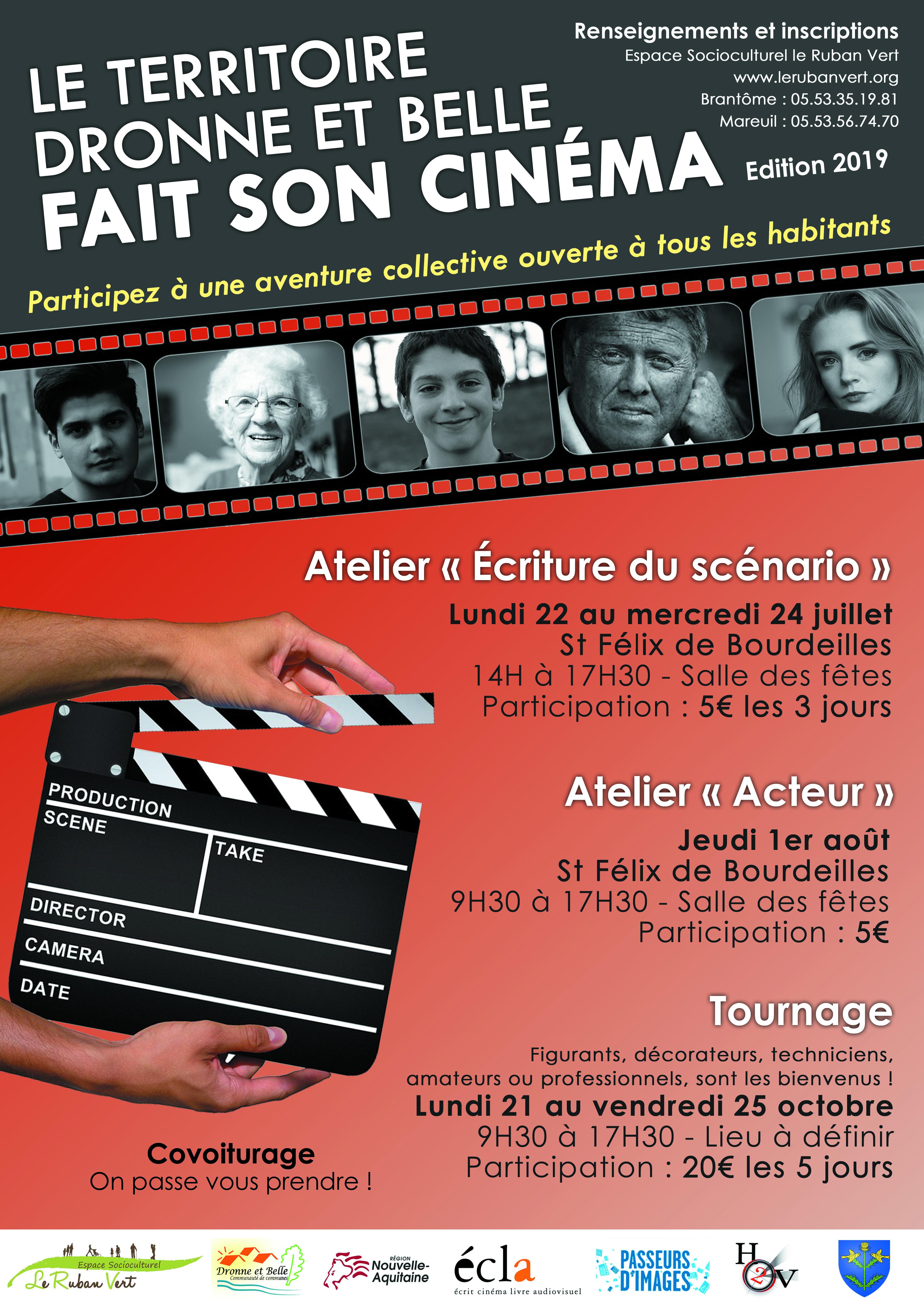 Stage de cinéma : Participez au tournage @ Beaussac