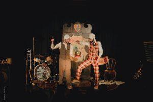 """Spectacle musical et burlesque """"La Boîte de nuits"""" @ Salle des fêtes de Mareuil en Périgord"""