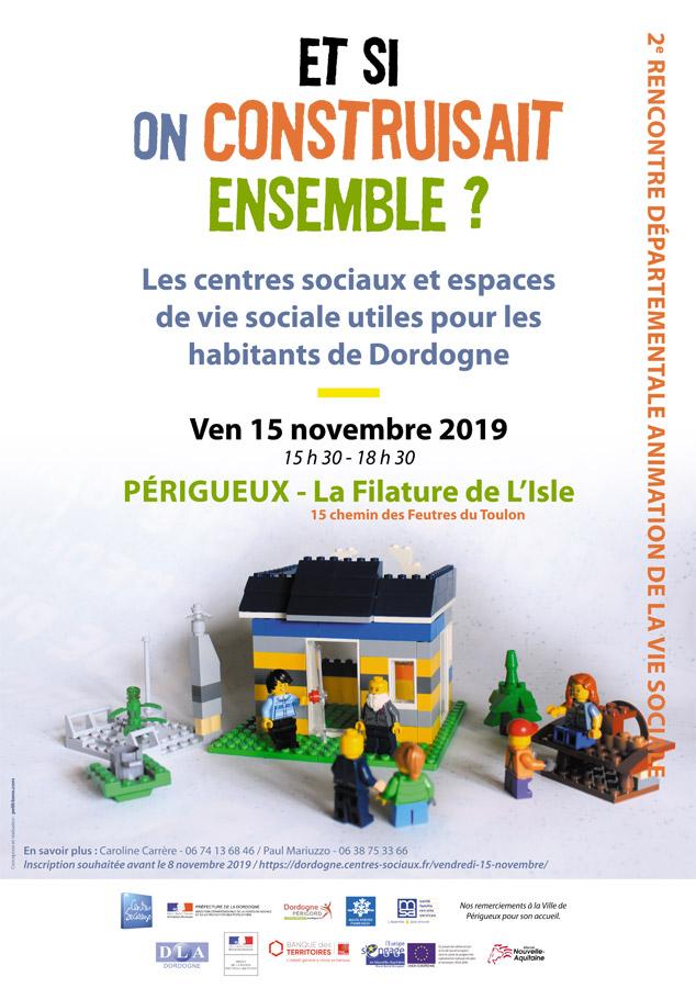 """""""Et si on construisait ensemble ?"""" @ Filature de l'Isle - Périgueux"""