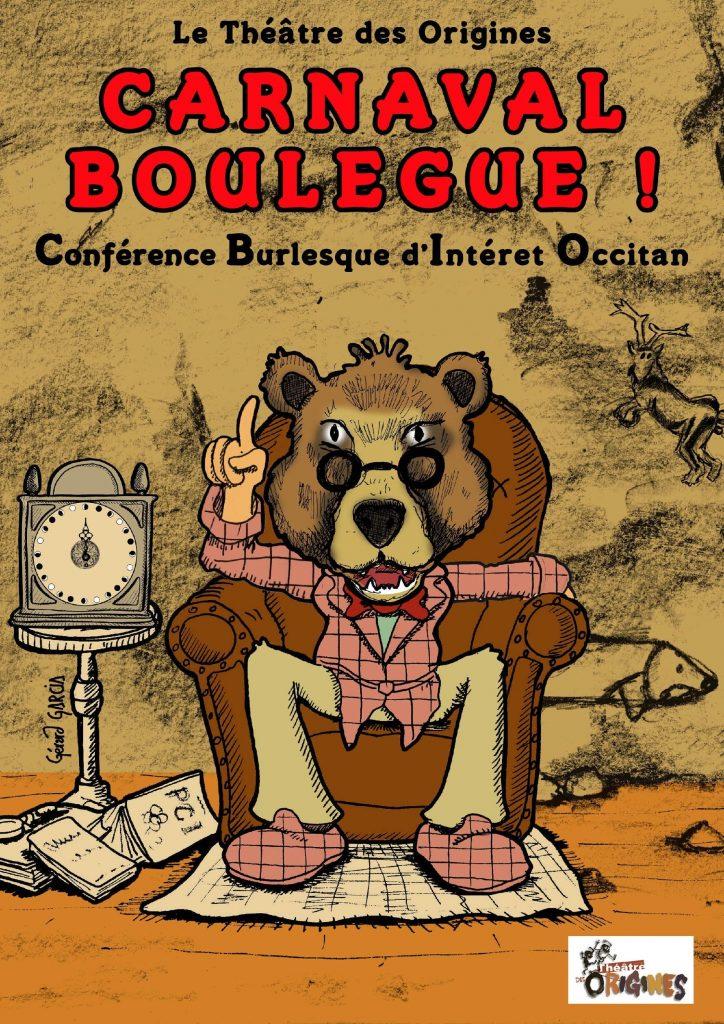 Conférence burlesque autour de Carnaval @ Salle des fêtes de Mareuil
